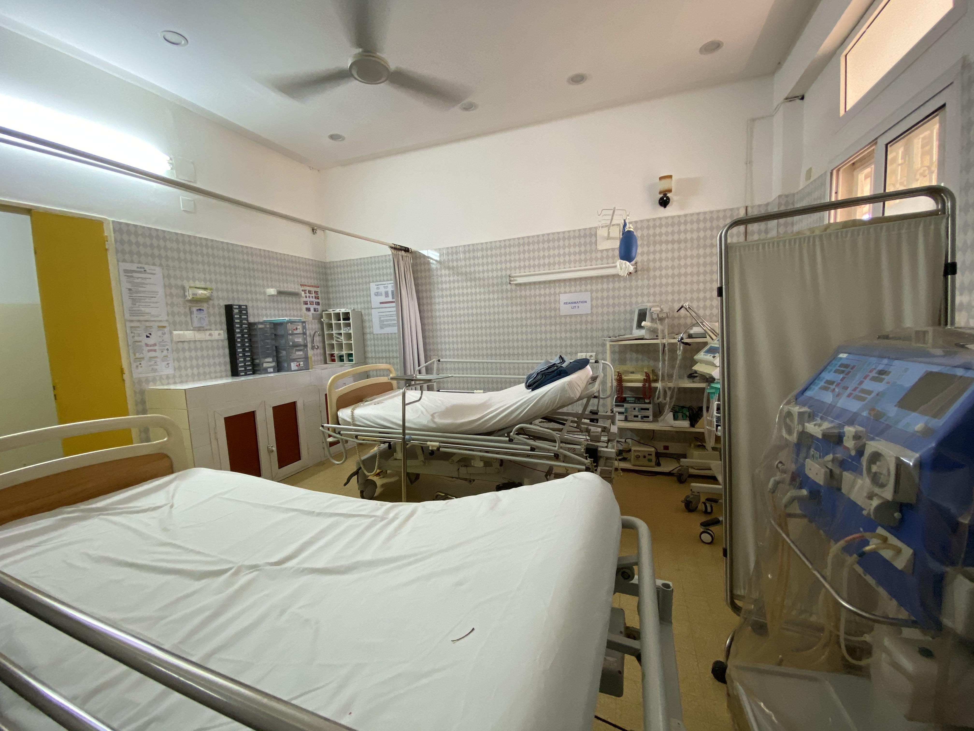 Salle de soins intensifs