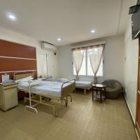 Chambre d'hospitalisation